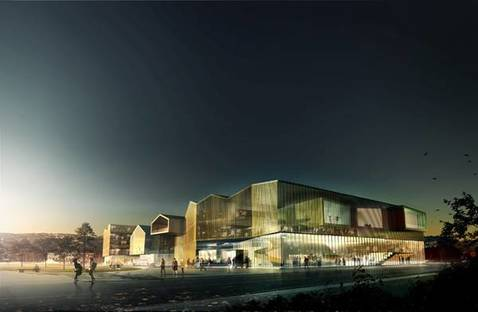 New cultural centre - Reiulf Ramstad Architects