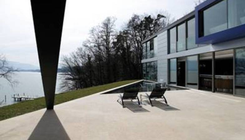 SAOTA – Architecture of textures and materials on Lake Geneva