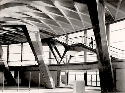 Pier Luigi Nervi, Palazzo dello Sport  (Rome - EUR). Courtesy of the MAXXI Foundation