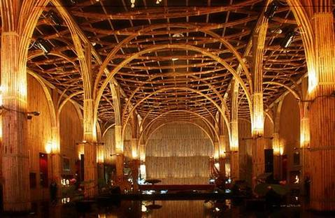 Bamboo Pavilion – sustainable architecture for Shanghai 2010