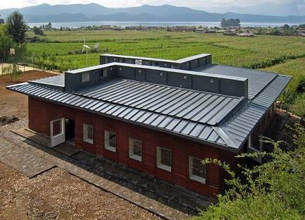 Prefabricated ecological school in China