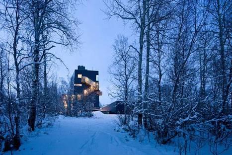 Steven Holl, Musée Knut Hamsun, Norway @ Iwan Baan