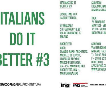 ITALIANS DO IT BETTER #3: Italian architecture abroad