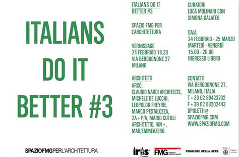 ITALIANS DO IT BETTER #3: Italian architecture abroad