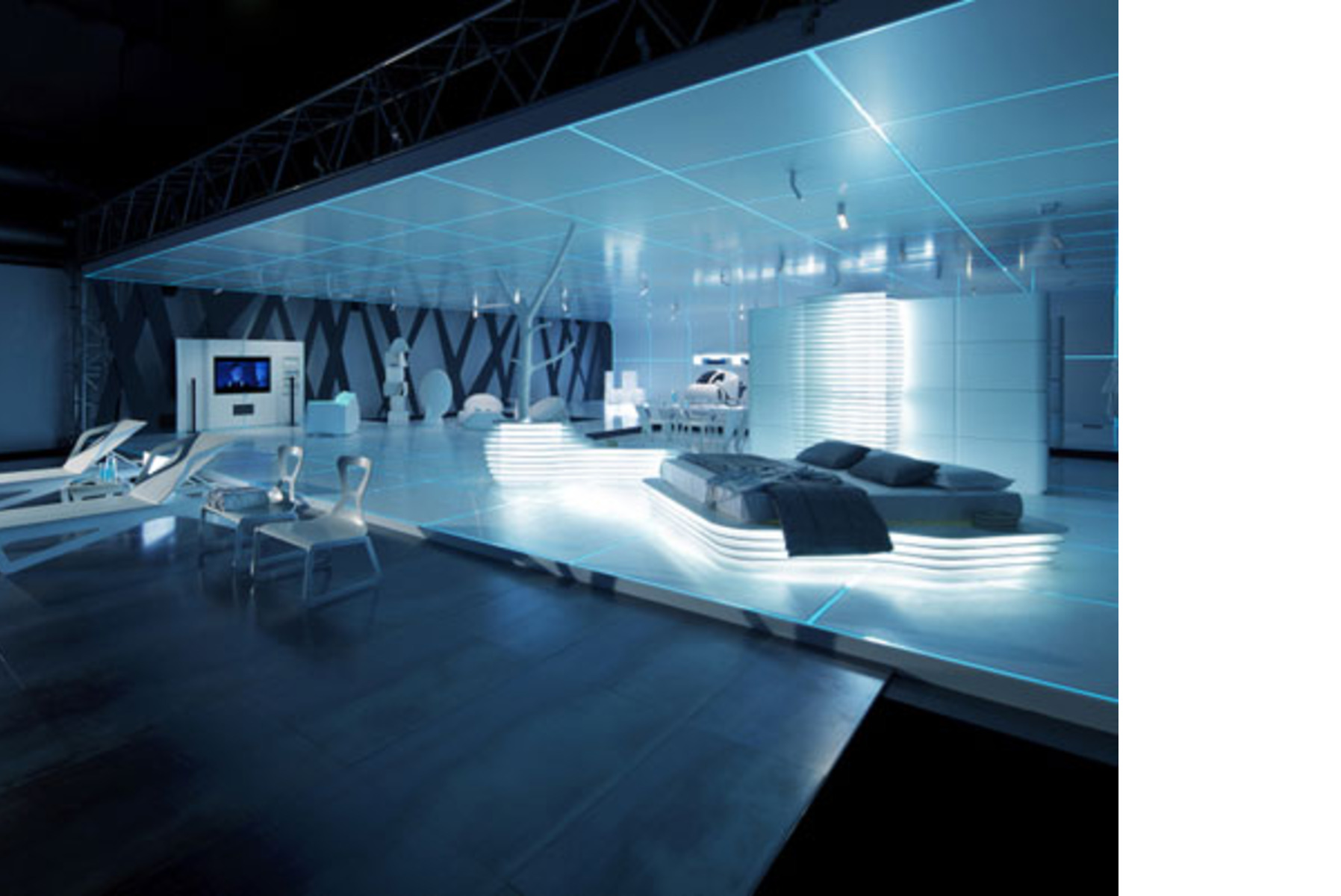 Exhibition Of Design Inspired By The Film Tron Legacy