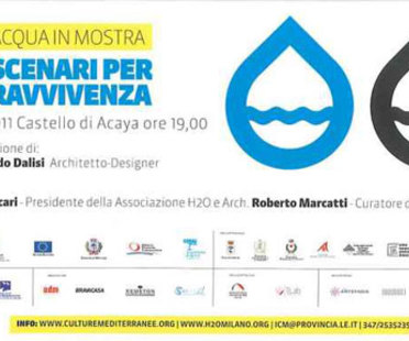 Lecce, Riccardo Dalisi for L'ACQUA IN MOSTRA