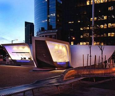 UNStudio's New Amsterdam Plein & Pavilion opens