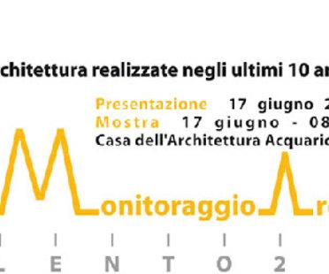 MAS'10 Monitoraggio Architettura del Salento '10