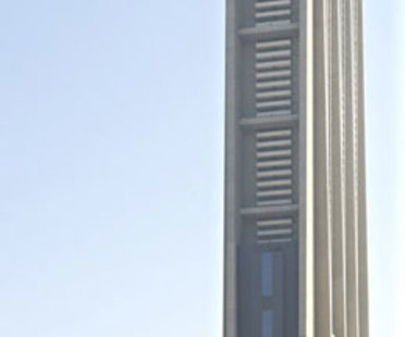 Dubai, Foster + Partners' The Index skyscraper
