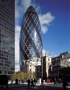 Swiss Re Headquarters, London, England @Nigel Young