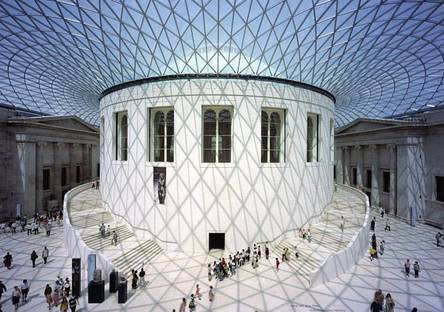 The Great Court at the British Museum, London  @Nigel Young, Foster Partners