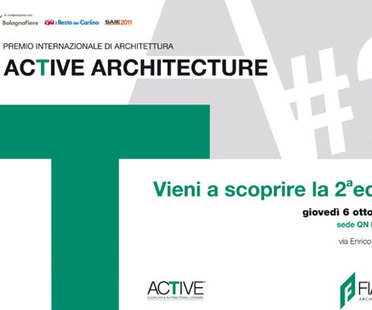 ARCHITECTURAL COMPETITION AWARD ACTIVE ARCHITECTURE
