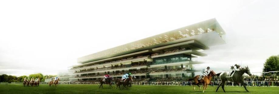 Perrault, new Longchamp hippodrome