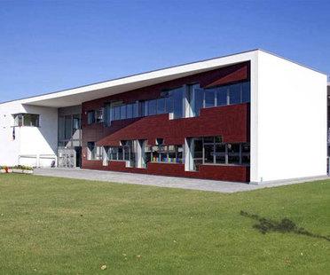 Green school building in Padua