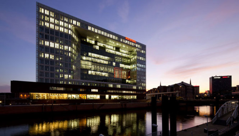 Henning Larsen Architects, Spiegel Headquarters