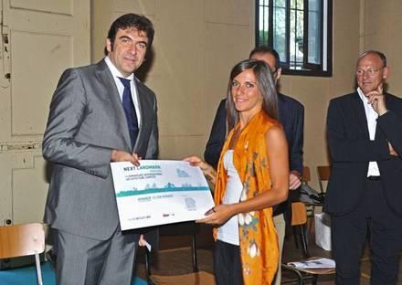 "Awards ceremony of the first ""NEXT LANDMARK 2012"""