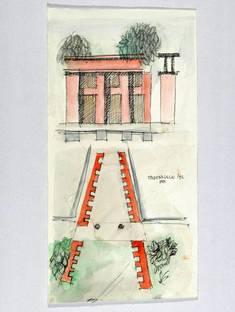 Exhibition: ALDO ROSSI Drawings 1980 – 1996