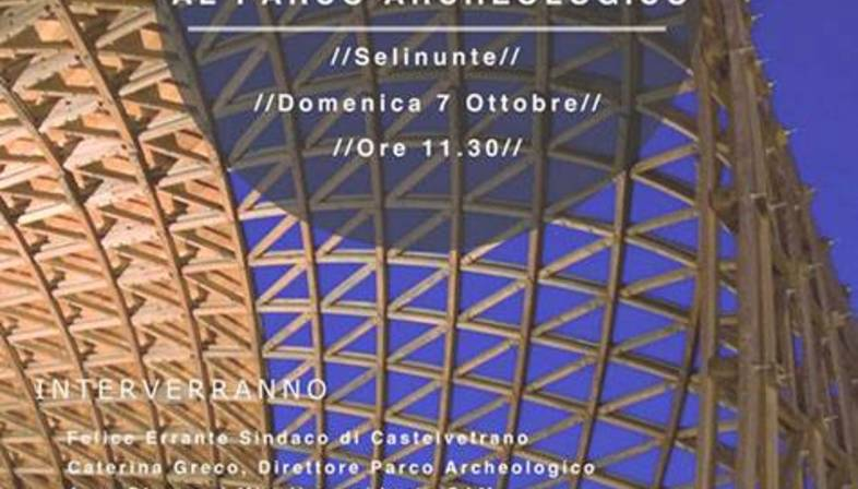 Sculpture and architecture combined: Gridshell at the Selinunte Archaeological Park