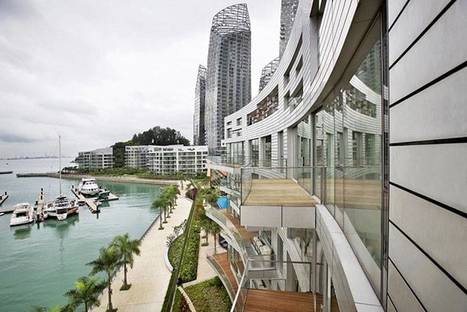Daniel Libeskind, Reflections at Keppel Bay
