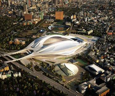 Zaha Hadid Architects, New National Stadium, Tokyo