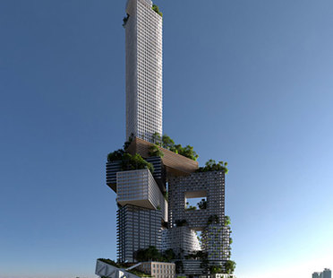 MVRDV, Peruri 88 tower, Jakarta
