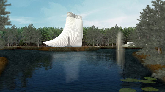 Brooks + Scarpa and KZF Design's Interfaith Chapel