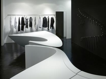 Zaha Hadid, Neil Barrett shop in shop Seoul