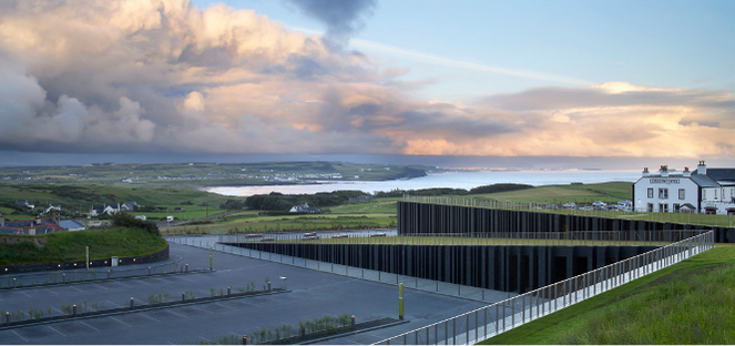 heneghan peng architects, Giants Causeway (c)Hufton+Crow