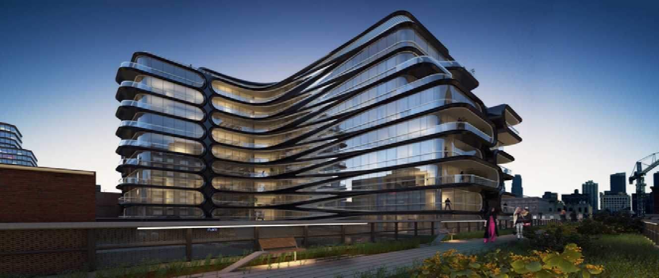 Zaha Hadid 520 West 28th Street New York Floornature
