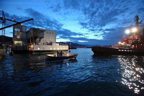 Renzo Piano: new Cetaceans Pavilion, Genoa Aquarium