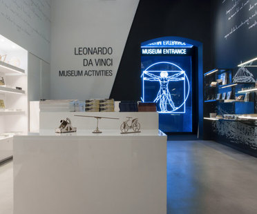 Giraldi Associati Architetti Leonardo da Vinci Museum in Florence