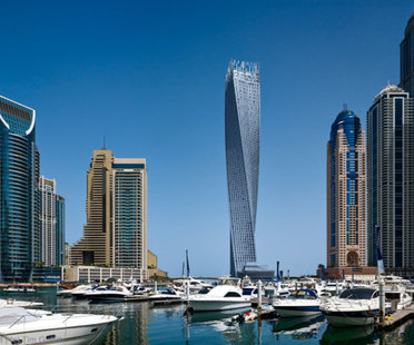 SOM's Cayan Tower (Infinity Tower), Dubai