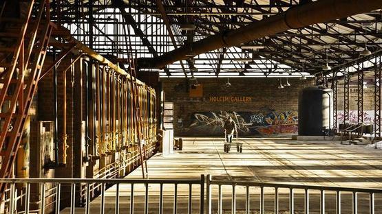 Next Landmark exhibition at Spazio FMG Milano