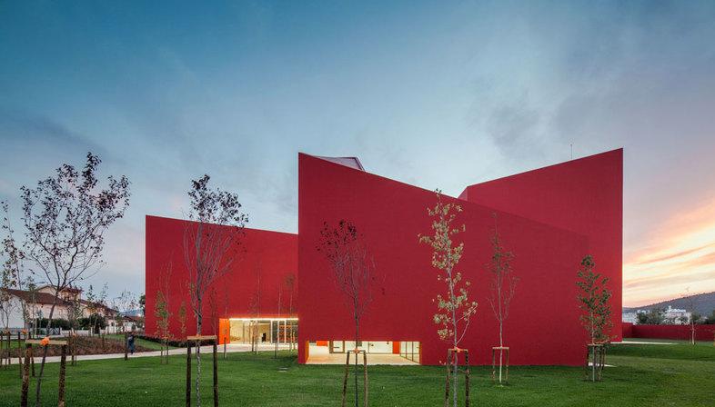 Fat Future Architecture Thinking Casa Das Artes Portugal