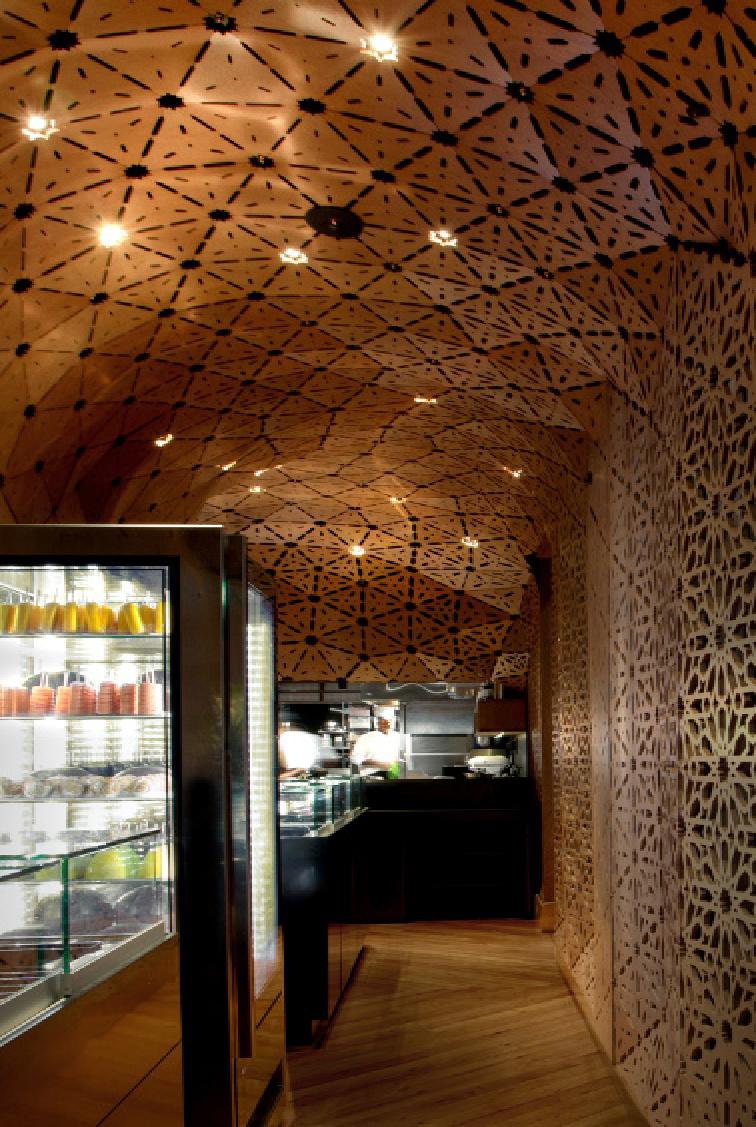 Prizewinning interior milse restaurant by cheshire