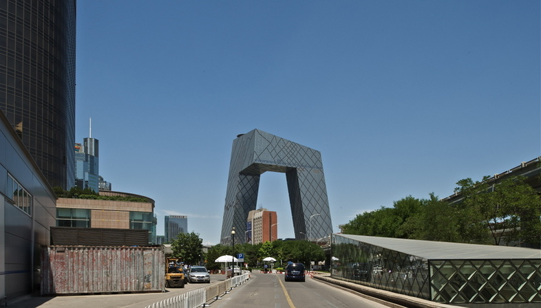 Rem Koolhaas' CCTV Headquarters voted best tall building of 2013