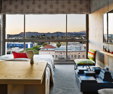 "The Line Hotel, Los Angeles. A ""fusion"" project."