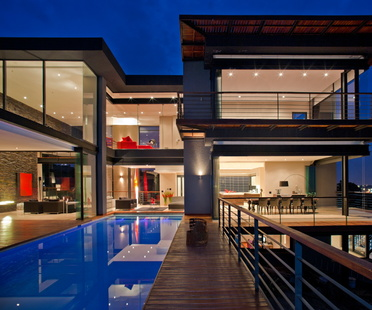 Architecture in South Africa. Nico van der Meulen's House Lam.