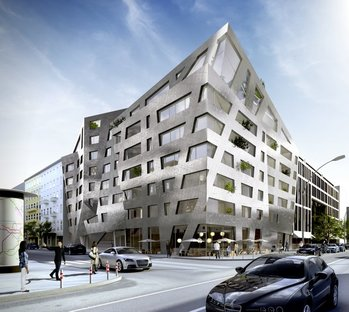 Libeskind residential building on Chausseestrasse - Berlin