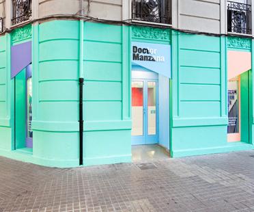 Communicating through design. Masquespacio's Doctor Manzana store