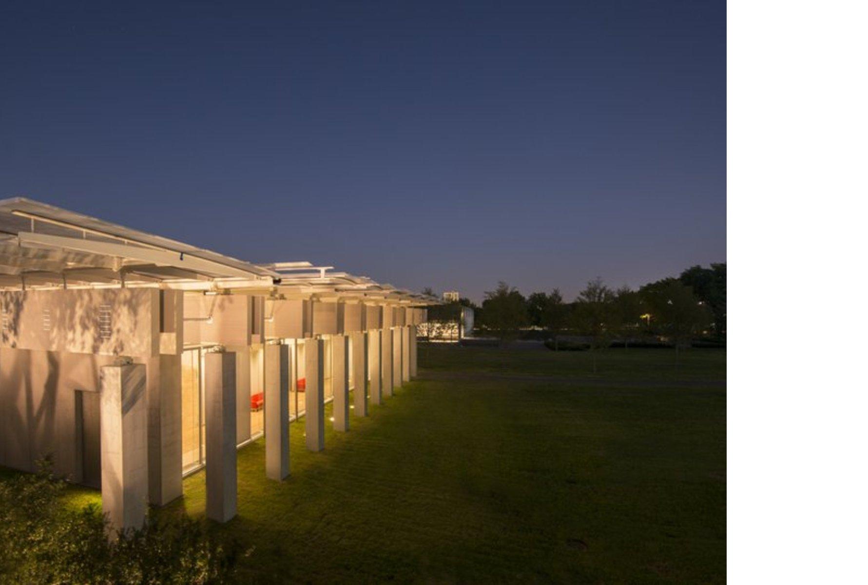 Renzo Piano Kimbell Art Museum Pavilion Floornature