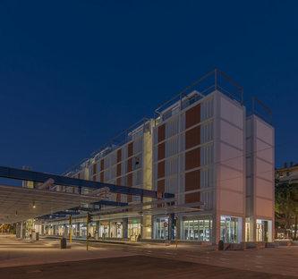Rogers Stirk Harbour + DA.Studio, new civic centre in Scandicci