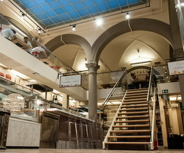 Culinary art and architecture: New Eataly location in Florence.