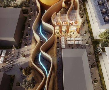 Foster's plans for the UAE Pavilion at Expo Milano 2015