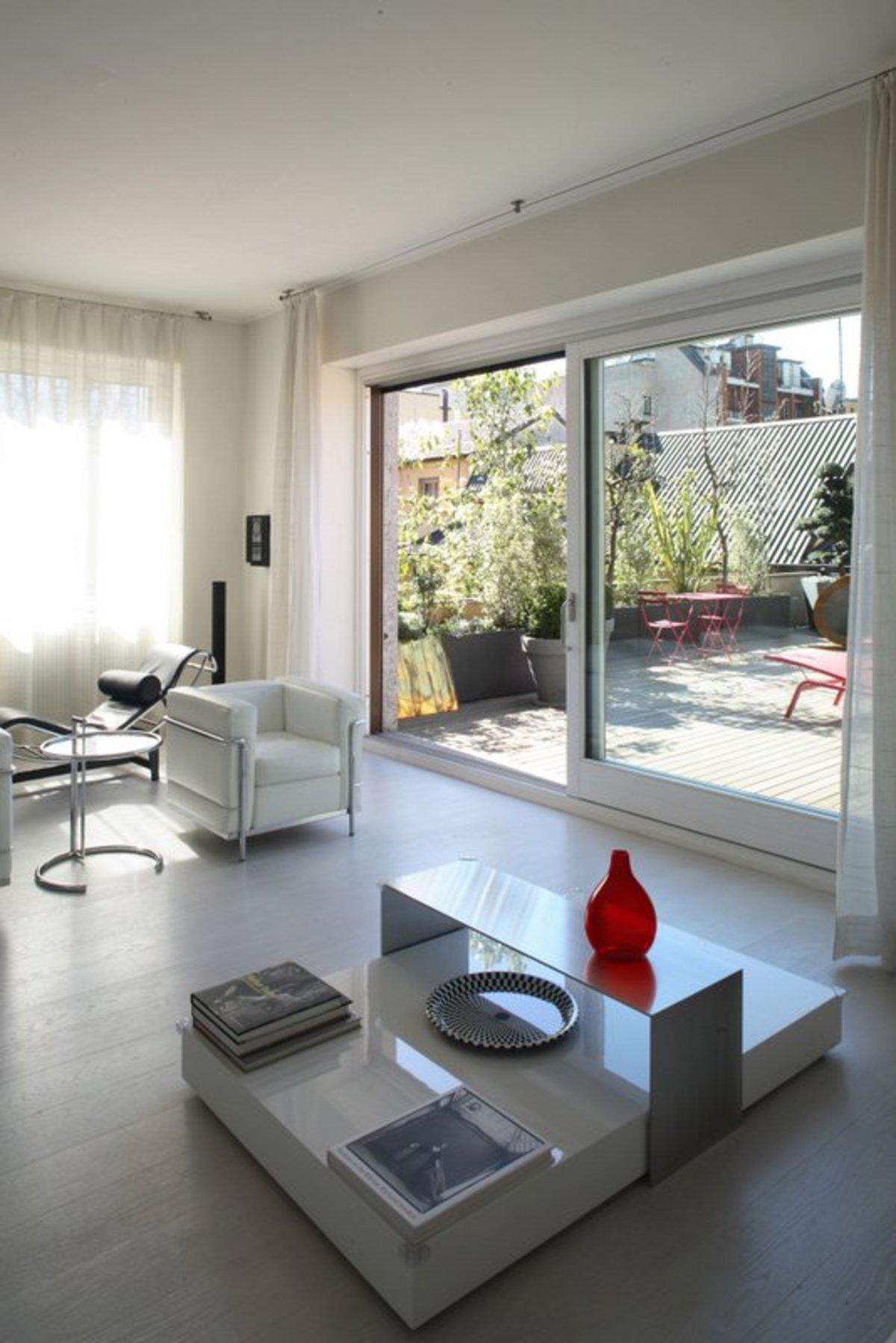 Andrea castrignano total white design in milan floornature - Andrea castrignano interior designer ...