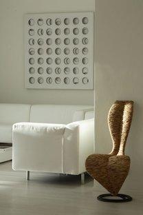 Andrea Castrignano Total White design in Milan