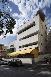 A hotel in the Bauhaus style. The Rothschild 71, Tel Aviv
