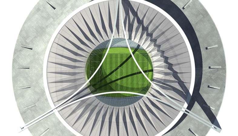 GMP National Stadium in Tripoli, Libya