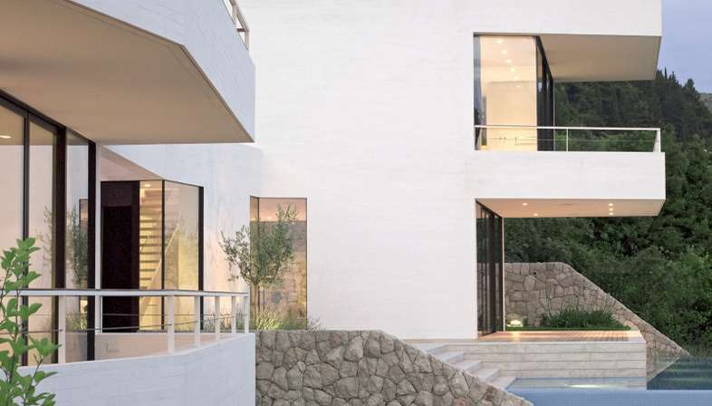 3LHD, House U residential building in Dubrovnik