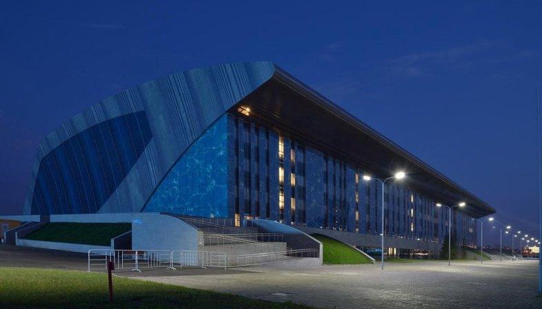 Studio SPEECH: Palace of water sports in Kazan.